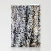 furry Stationery Cards featuring Furry by Courtney Spencer