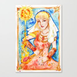 Fire Priestess Canvas Print