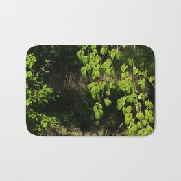 Forest and Green Leaves Bath Mat