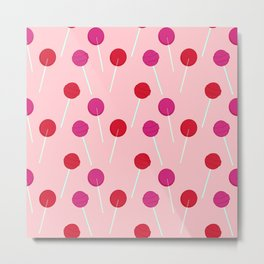cherry pop Metal Print