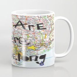 Where You Belong-Houston Coffee Mug