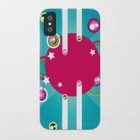 disco iPhone & iPod Cases featuring Disco by Klara Aldana