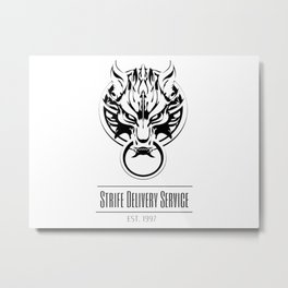 Strife Delivery Metal Print