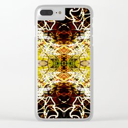 Chaos Tree Kaleidoscope 1 Clear iPhone Case