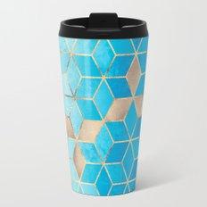 Sea And Sky Cubes (Custom Request) Travel Mug