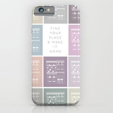 Find Your Place iPhone 6s Slim Case