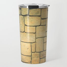 Stone Geometric Travel Mug