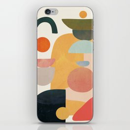 Modern Abstract Art 70 iPhone Skin