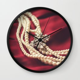 Fancies in the Past Wall Clock