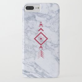 Marble with arrow iPhone Case