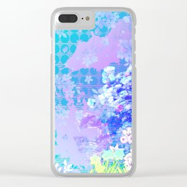 Beauty in Bloom Clear iPhone Case