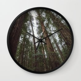 Through the Woods Wall Clock