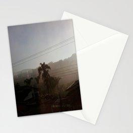 Golden Haze Stationery Cards