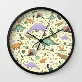 Dinosaurs! Wall Clock