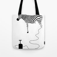 future Tote Bags featuring future by Panic Junkie