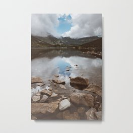 Mountain Lake - Landscape and Nature Photography Metal Print