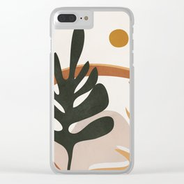 Abstract Plant Life I Clear iPhone Case