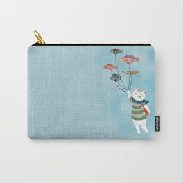 Adventurous cat Carry-All Pouch
