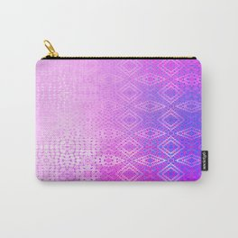 Diamonds Going On Forever (violet) Carry-All Pouch