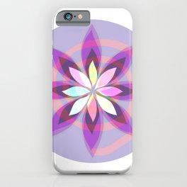 Mandala Flower-2 iPhone Case