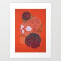 Hydrangea Danger Art Print