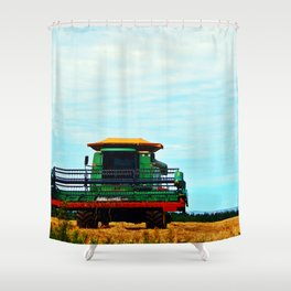 Harvester on the Ridge Shower Curtain