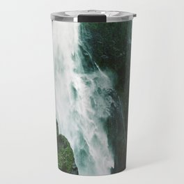 Milford Sound Waterfall Travel Mug
