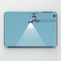 waterfall iPad Cases featuring Waterfall by Shkvarok