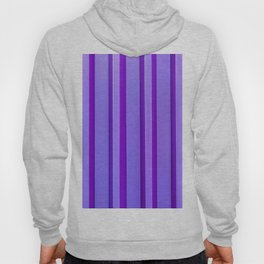 Stripes - Violet Hoody