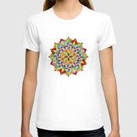 manchester T-shirts featuring Manchester Mandala by Patricia Shea Designs