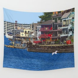 Ship Canal 2 Wall Tapestry