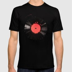 The vinyl of my life MEDIUM Mens Fitted Tee Black