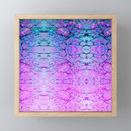 Melted Wizard Framed Mini Art Print