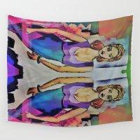 gemini Wall Tapestries featuring Gemini by Deb MacNeil