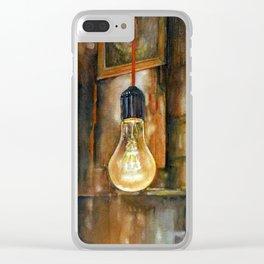 40 WATT Clear iPhone Case