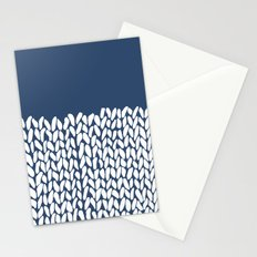 Half Knit Navy Stationery Cards