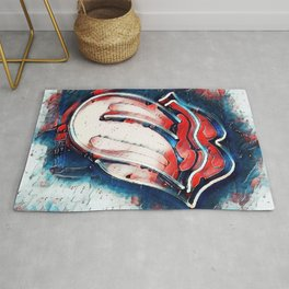 Rolling Art Jeans Rug