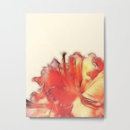 Coral Rhododendron Metal Print