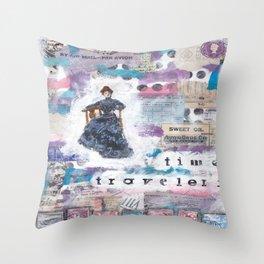 Time Traveler X Throw Pillow