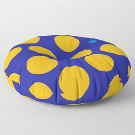 yellow dots Floor Pillow