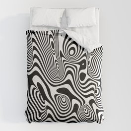 Trippy Background Comforters
