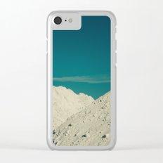 biancoazzurro Clear iPhone Case