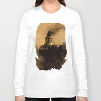 istanbul Long Sleeve T-shirts featuring istanbul  by Atalay Mansuroğlu