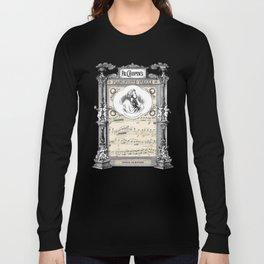 Frederick Chopin Polonaise art Long Sleeve T-shirt