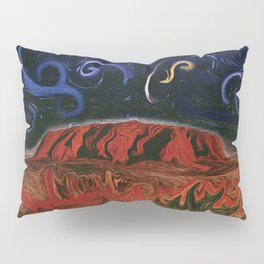 Uluru by Night Pillow Sham