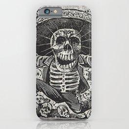 Calavera Oaxaqueña - Día de los Muertos - Mexican Day of the Dead by Jose Clemente Orozco iPhone Case