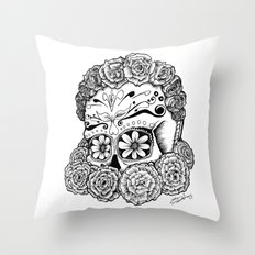 Katrina (white version) Throw Pillow