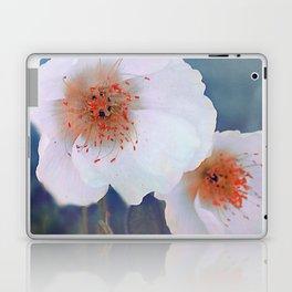 White poppies(2) Laptop & iPad Skin
