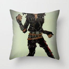 Bad Throw Pillow