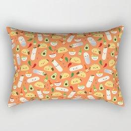 Tacos and Burritos Rectangular Pillow